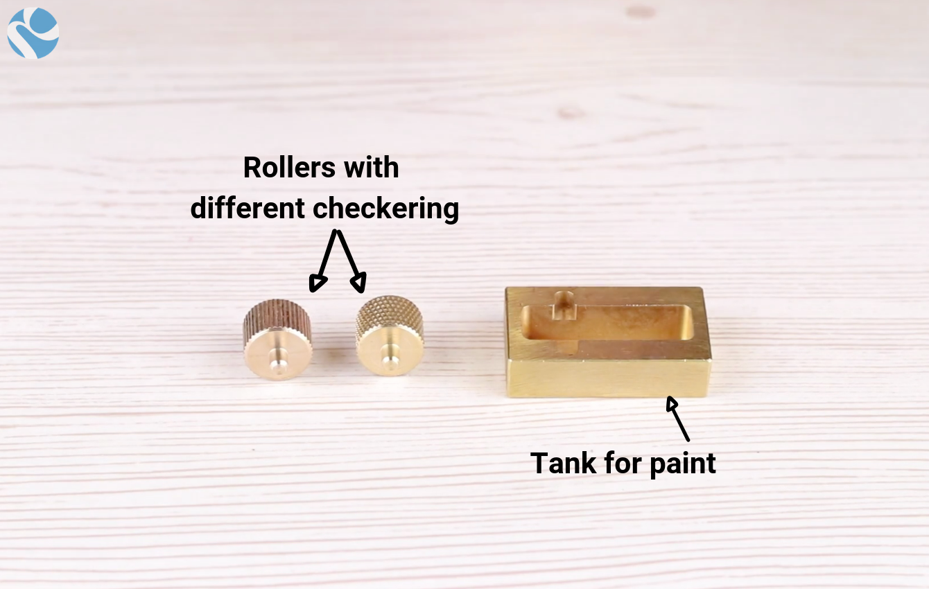 Mini Edge Dye Roller - How it is composed