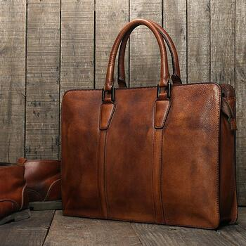 LISABAG - HANDCRAFTED FULL GRAIN GENUINE LEATHER