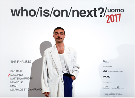 Who is on next? uomo 2017